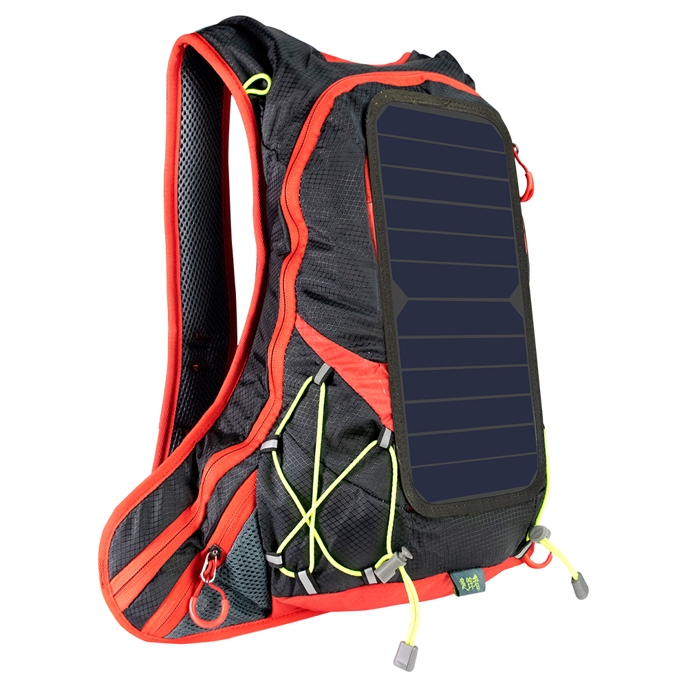 цены на XINPUGUANG Solar Charging USB Backpack Casual Anti-theft Laptop Bagpack Travel Waterproof Unisex Student School Bag