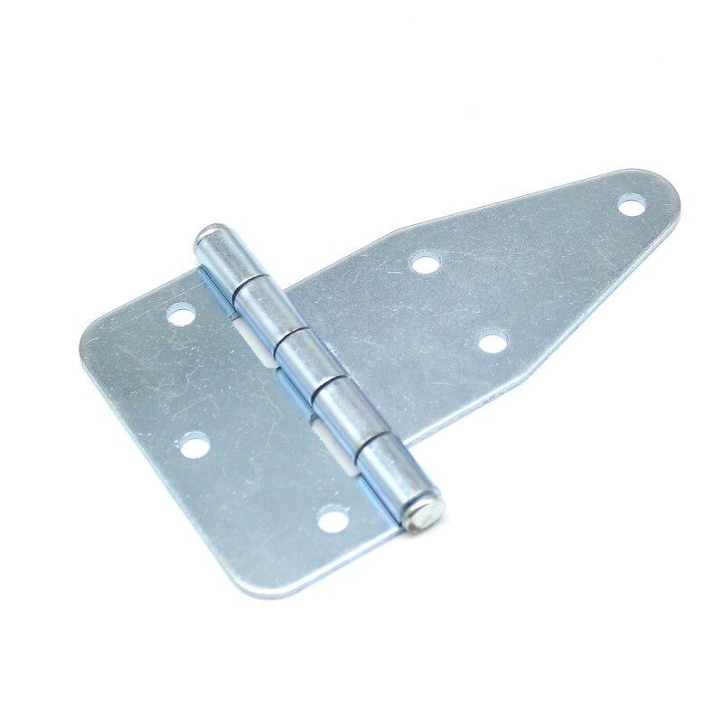 Eisen Industrie Kräftig Schwere Scharniere 137*85*2,5mm Edelstahl Oberfläche Montiert Großen Schrank Türscharnier 2 stücke