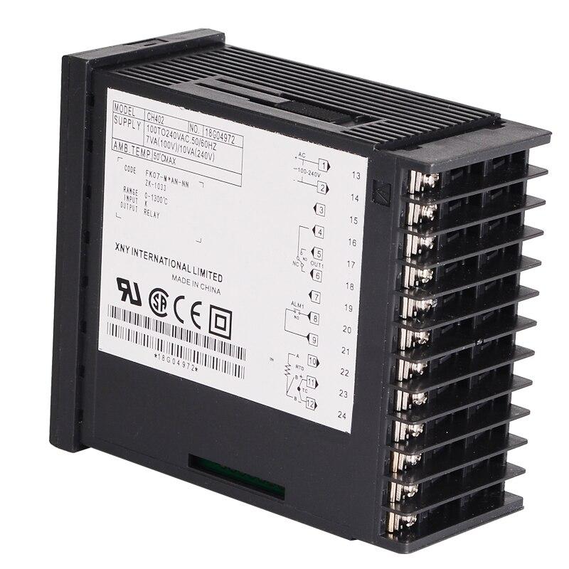 Digitální termoregulátor termostatu na pečení PID regulátor - Měřicí přístroje - Fotografie 5