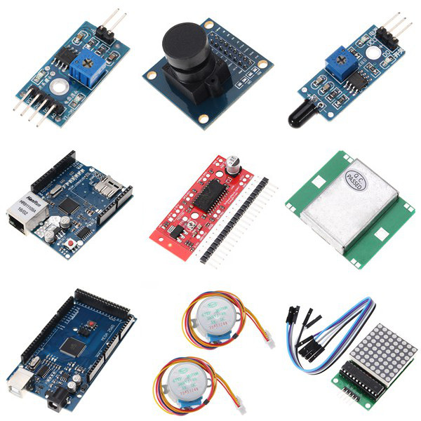 UNO Mega pour Nano capteur relais bluetooth Wifi LCD Kit de démarrage débutant pour Arduino - 6