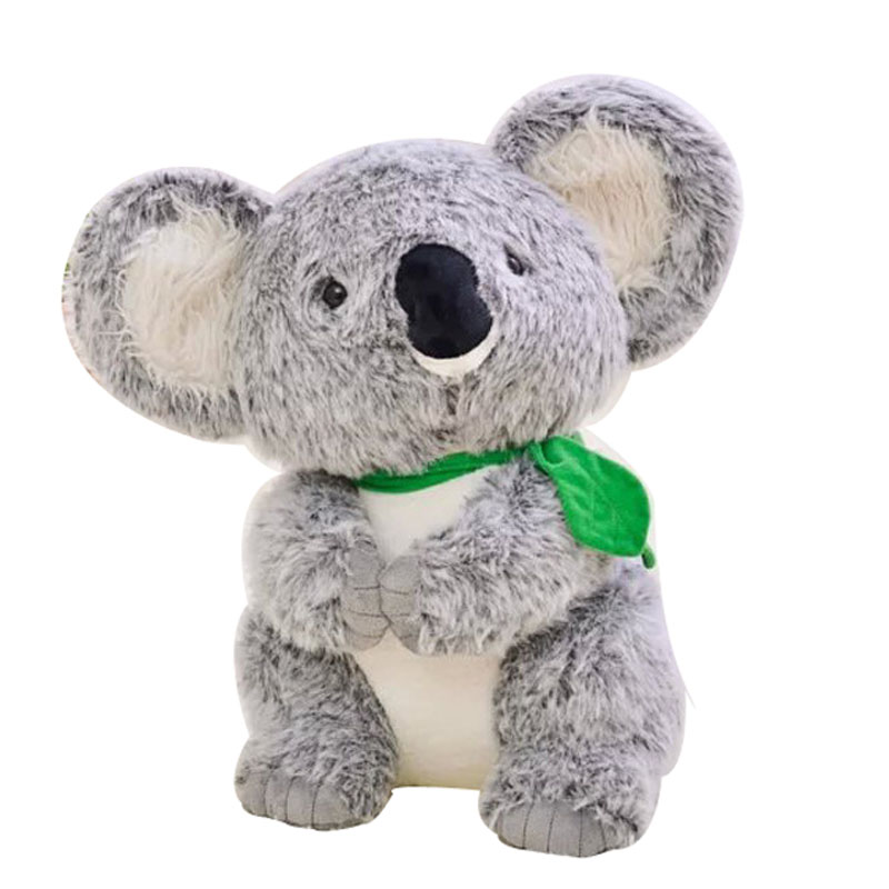 High Quality Simulation Koala Stuffed Animal Soft Plush Cute Toys Doll Kids Gift Pillow Lovely Plush Dolls toy stuffing MR152 2017 hot sale plush soft toys doll stuffed animal toy plush green frog dolls with sucker for baby kids pillow christmas gift