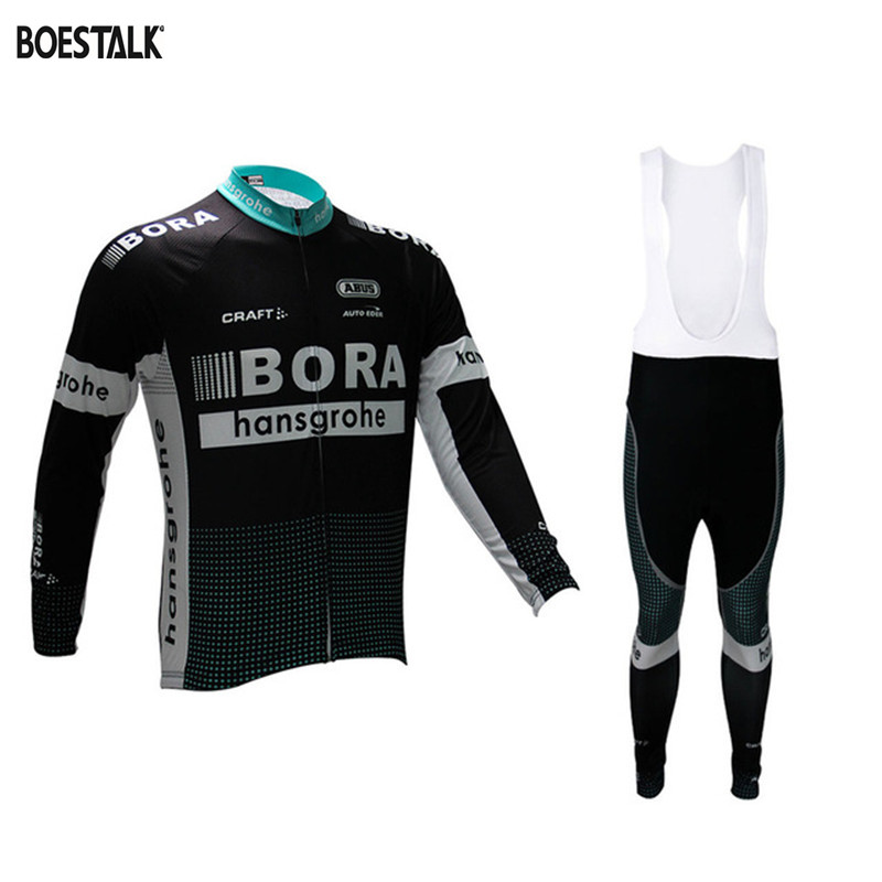 Ciclismo winter thermal fleece cycling long sleeve Ropa ciclismo 2017 bora popular cycling jersey mtb chic quality warmth thermal fleece base layer cycling long sleeve jersey for unisex