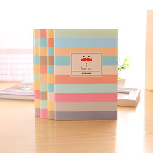 2pcs/lot 40sheets Beard Notepad A5 Soft Side Copy Notebook Student Book Stationery Office Supplies