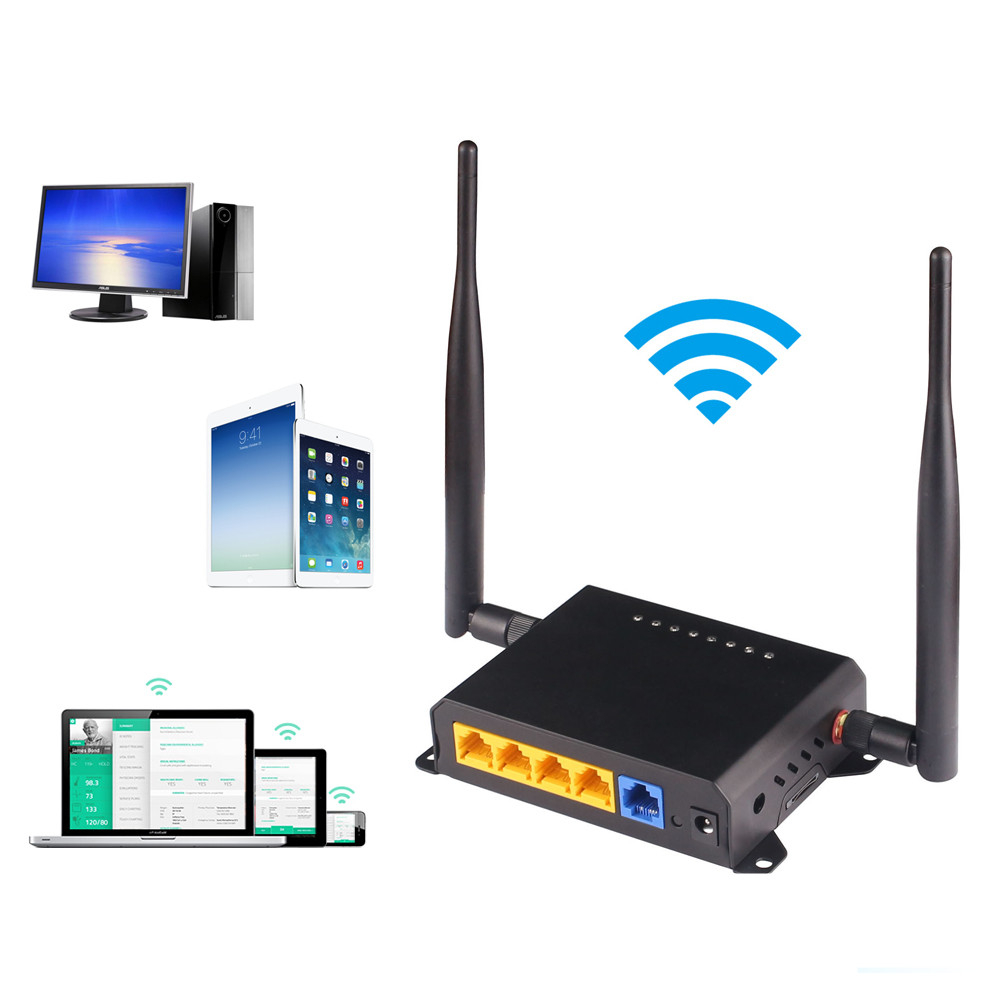 Беспроводной маршрутизатор KuWFi 300 Мбит/с, wi-fi-роутер Openwrt с большим радиусом действия, Wi-Fi ретранслятор, Wi-Fi удлинитель через настенный домашн...