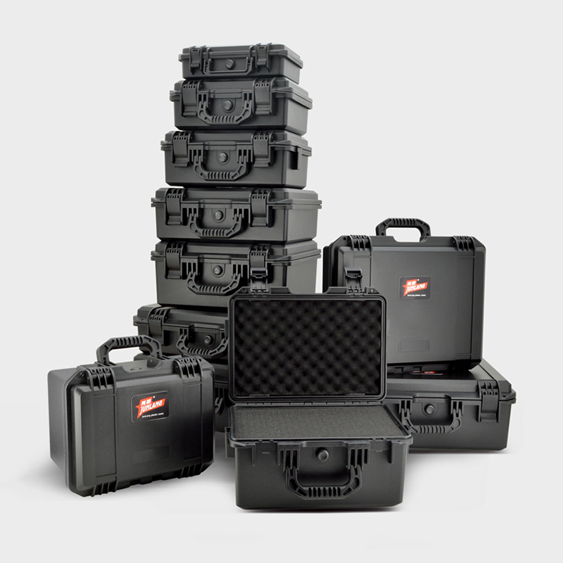 Plastic Safety Box Photographic Instrument Tool Case Impact Resistant Sealed Waterproof Box Hardware Toolbox with pre