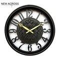 Gohide 1 шт. Электронные часы ультра тихий номер часы Европейский стиль 15 дюймов круглые часы украшения дома