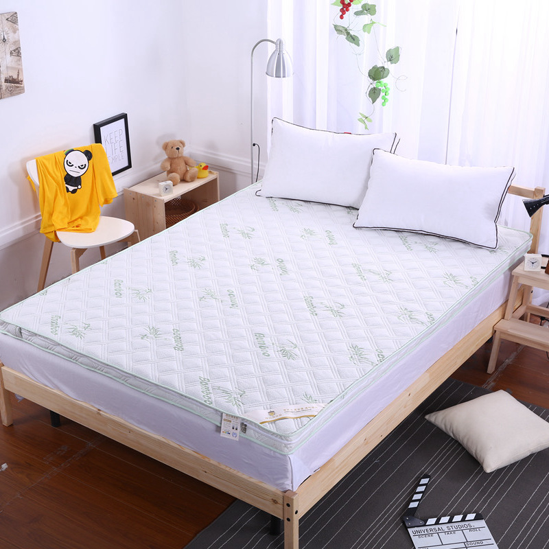 2019 New Style Fashion 3D Thick Warm Stereoscopic Removable and Washable Mattress Single Or Double Students Hostel Mattresses clara clark hypoallergenic 100% waterproof washable fire retardant mattress cover protects from bed bugs dust mites pollen mold and fungus great for asthma eczema and allergy sufferers available in 5 sizes fits mattresses up to 15 thick