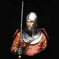 FAI DA TE 1/10 Resina Personaggio Dei Cartoni Animati Modello Cavaliere Medievale Xiv Secolo A Tema Storico X119-in Kit di modellismo da Giocattoli e hobby su