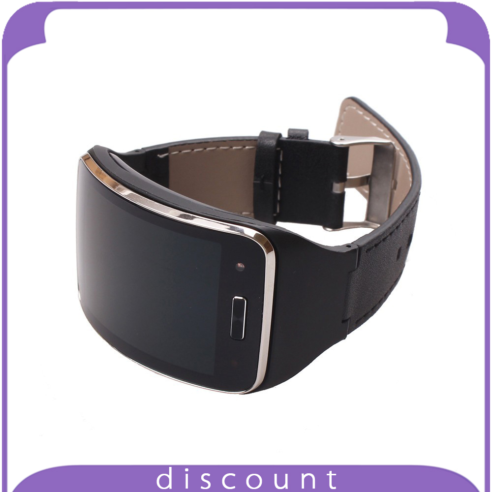 Genuine Leather GEAR S Band Leather Strap Wristband For SAMSUNG GEAR S R750 font b Smart
