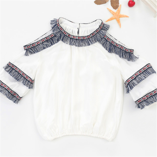 9cd2eba3f91 T Shirts Summer Girls Fashion Teenage Girl Top Coisas Baratas Child Clothing  for Girls T Shirt Short Sleeve Kids T-shirt 50H093