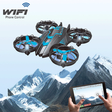 JXD 515W wifi fpv drone 2.4g 4ch WIFI real time transmition remote control helicopter Altitude Hode  with 0.3MP HD camera