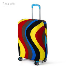 Travel Luggage Suitcase Protective Cover Trolley Case Dust Accessories Apply(Only Cover)