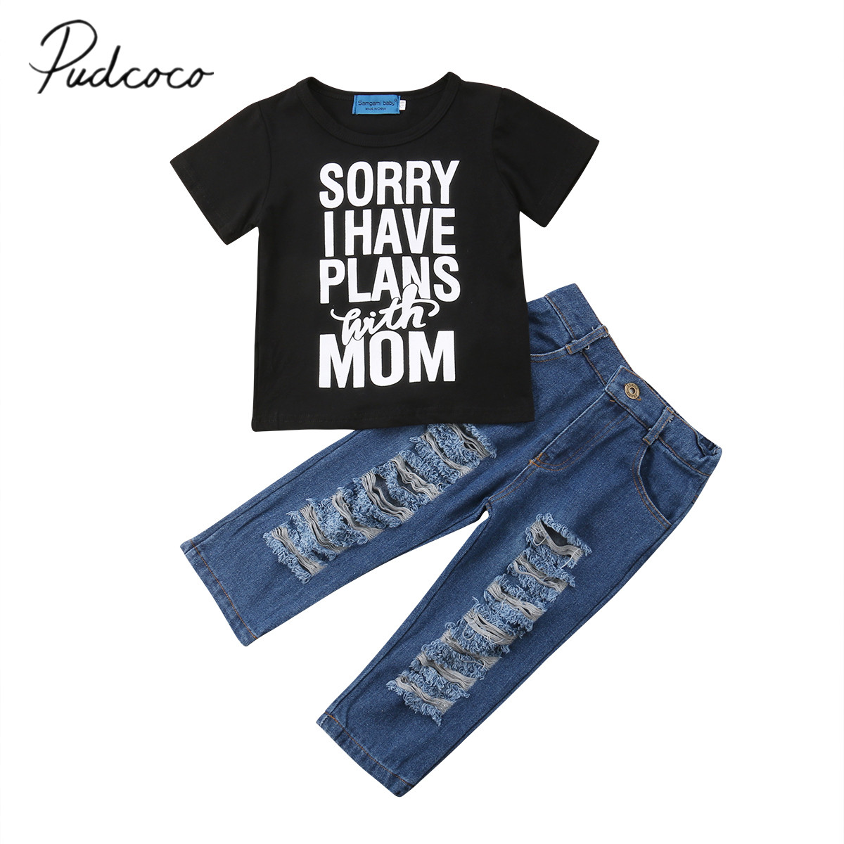 2018 Brand New Toddler Infant Kids Baby Boy Clothes T ...