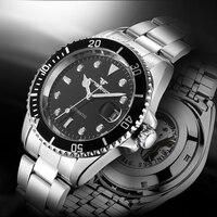 2017 New Arrivals Top Brand Luxury Men Mechanical Wristwatch Luminous Point Business Boys Watch Casual Fashion