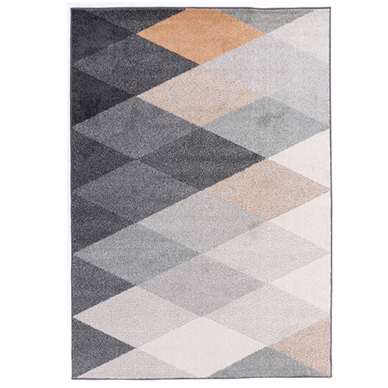 Winlife Sinple Modern Carpets Geometric Pattern Rugs For