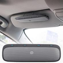 Yeni TZ900 güneşlik çok noktalı kablosuz bluetooth Handsfree çağrı araç kiti hoparlörlü ses sistemi müzik hoparlörü akıllı telefonlar için