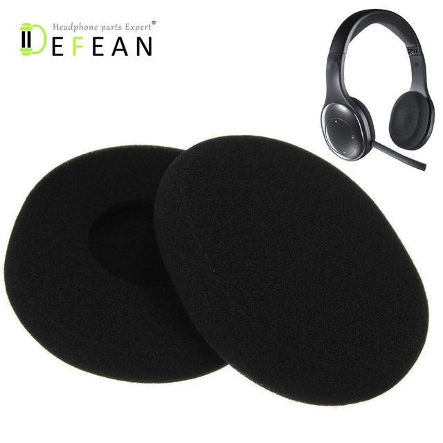 87b81a2e815 Defean A Pair of Replacement Foam Earpads Ear Pads Ear Cushions For Logitech  Wireless Headset H800 Headphones