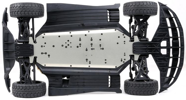 CNC alloy front steering chassis cover plate support for ROFUN Rovan F5 MCD rr5