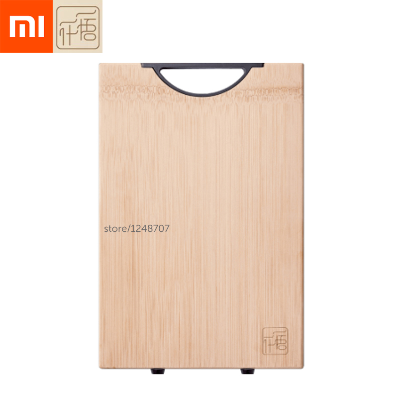 Xiaomi YIWUYISHI Chopping Board 2 6cm Bamboo Cutting Board Thickened Antimicrobial kitchen Meat Pad