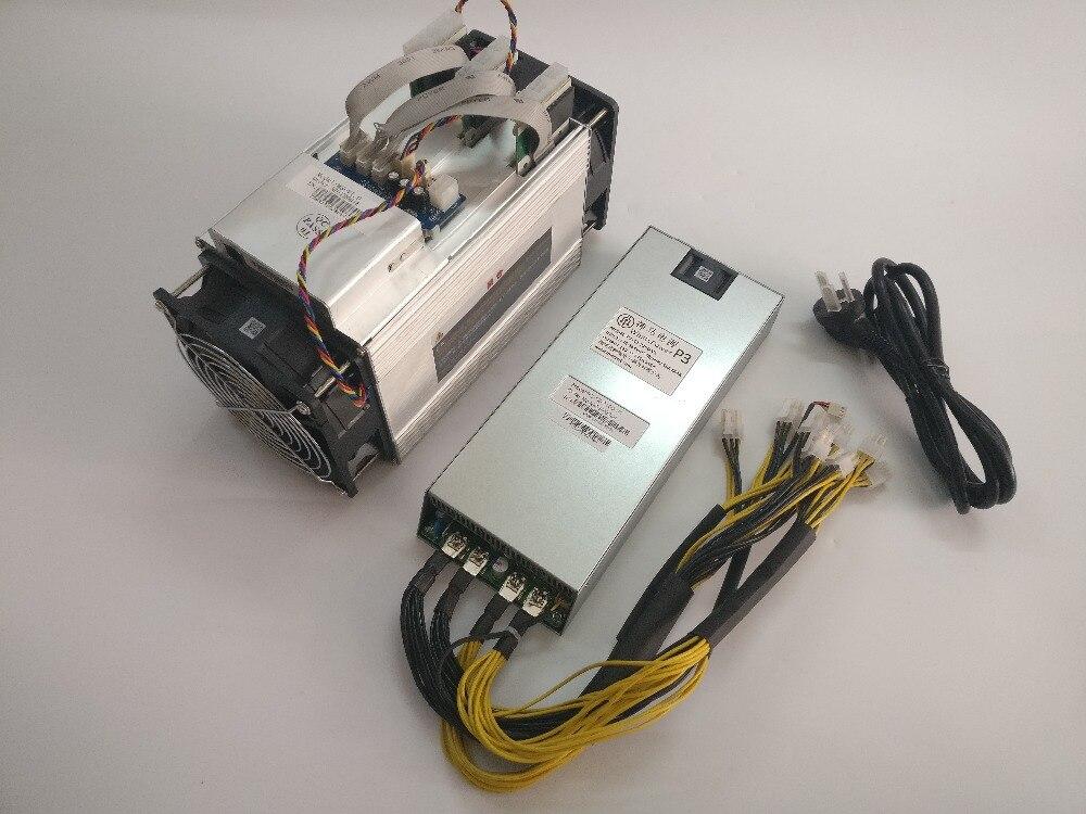 Utilizzato BTC BCH minatore Asic Bitcoin Minatore WhatsMiner M3 9.5 T-10.5 T 0.17-0.18kw/TH Migliore di Antminer S7 S9 Ebit E9