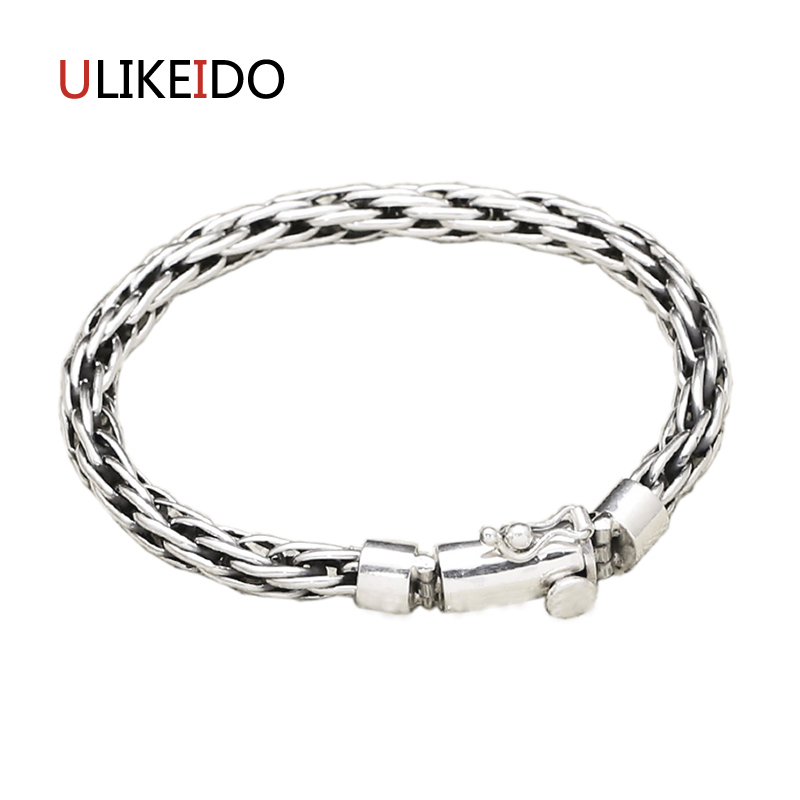 Pure 925 Sterling Silver Bracelets Fashion Hollow Out Classic Hand Chain For Men And Women Special Jewelry Charm Bracelet 328 цена