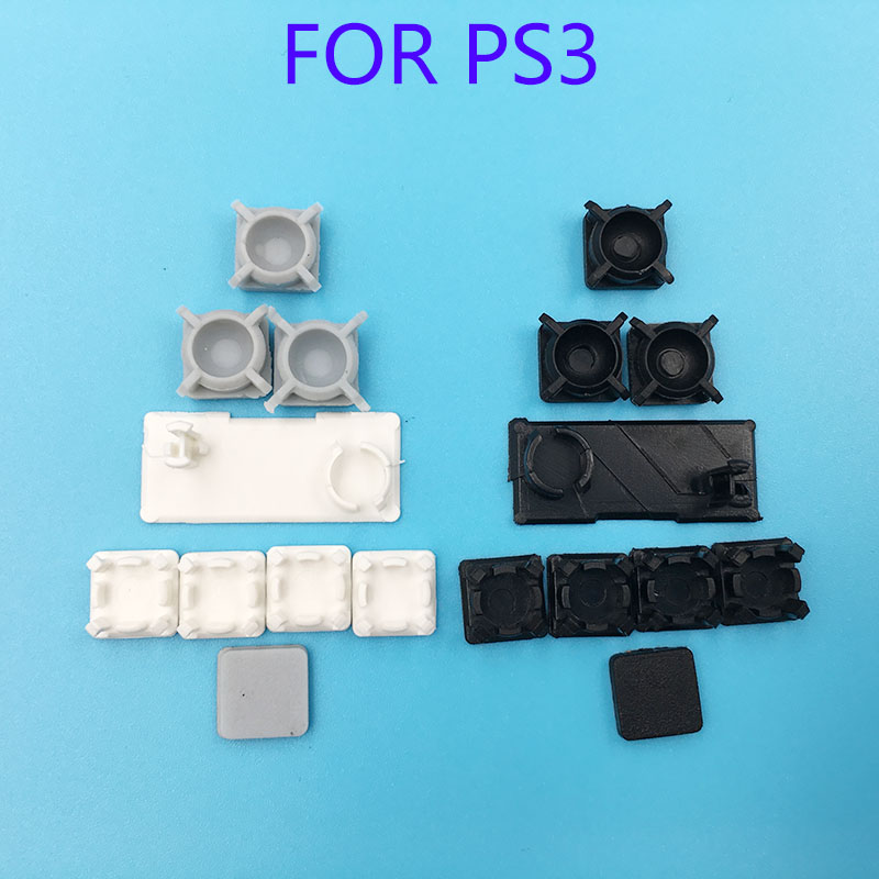 50Sets Rubber Plug Screw Hole Pad Dust plug Plastic Pad For PS3 Slim Console