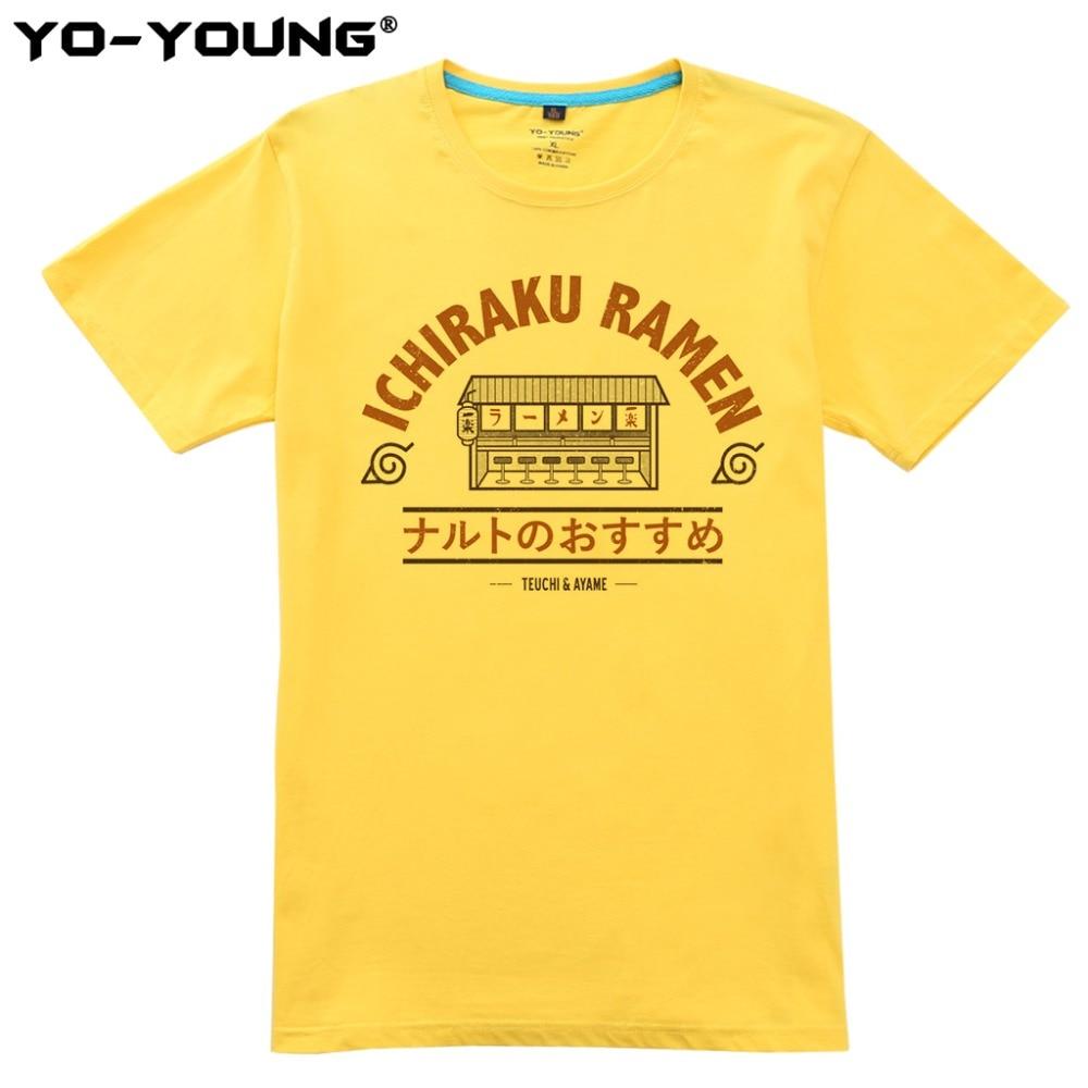 Anime Naruto Ichiraku Ramen T Shirts Ανδρικά Ψηφιακές - Ανδρικός ρουχισμός - Φωτογραφία 5