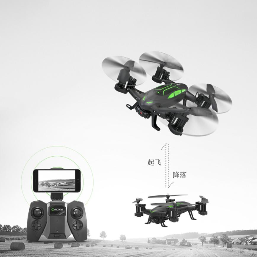 ФОТО New Multifunction Mini Drone FY602 High speed flight vehicle With 0.3MP WIFI Camera Air Pressure Setting RC helicopter