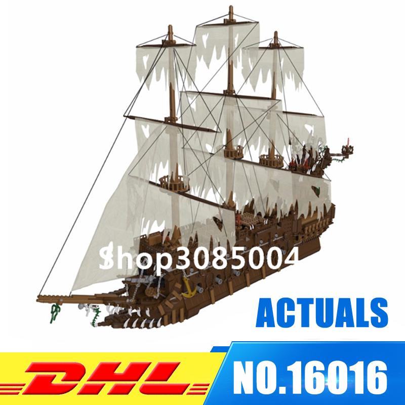 DHL Lepin 16016 3652Pcs Movies Series MOC The Flying the Netherlands Building Blocks Bricks Toys to Children Gifts lepin 16016 3652pcs movies series moc the flying netherlands dutchman model building blocks bricks ideas creator children gifts