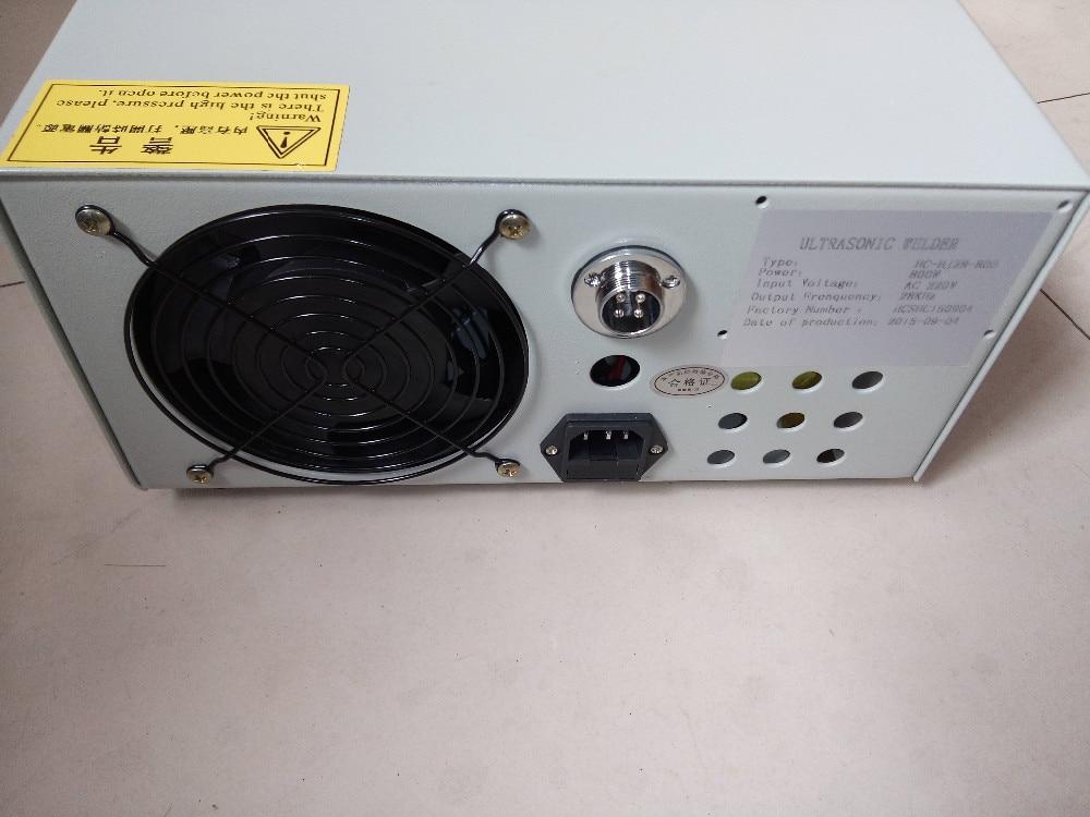 800 Watts 28hz Plastic Ultrasonic Spot Welding Machine Suitable for Welding And Dots 4