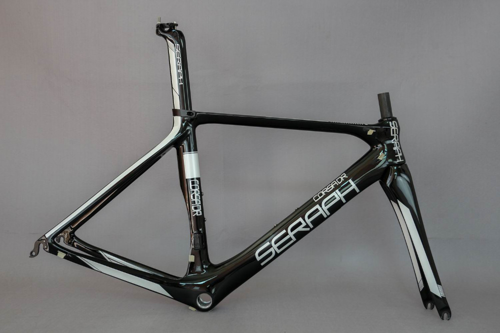 EN Quality China Carbon Road Bike Frame+Fork+Seat Post Clamp,  Carbon Bicycle Frame No Custom Fee Frame