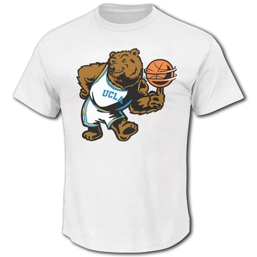 Color printing ucla - 2017 Hot Sale Pac 12 Funny Ucla Bruinsucla Mascot Bruins Men S New Brand Trend Slim Fit