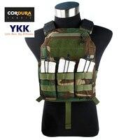 Cordura Rừng 4020 Tấm Carrier Ánh Sáng Cấu Hình Thấp MOLLE Tactical Vest + Miễn Phí Vận vận chuyển (STG051022)