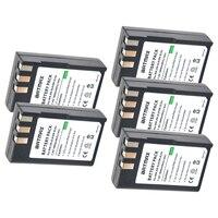5Pcs 1800mAh EL 9a EL 9E ENEL9 EN EL9 EN EL9a EN EL9E Battery Pack for Nikon D3000, D40, D40x, D5000, D60 Digital SLR Camera