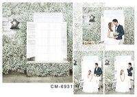 200*300cm Wedding Vinyl Backdrops For Photography Fond Studio Photo Wonderful windows Flower wall Tile Floor For Children