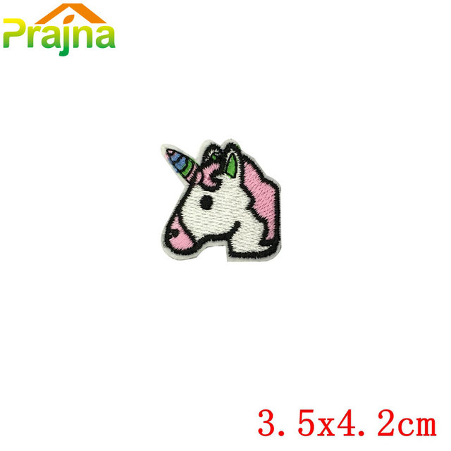10PCS Unicorn Patch Cute Small Cheap Embroidered Patches ...