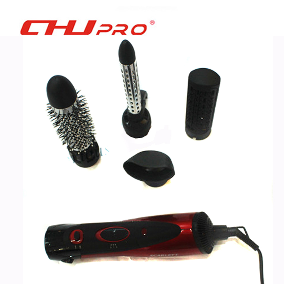 hair styling tools set hair brush dryer air brush styler machine comb 4in1 5819