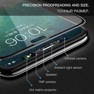 Image 3 - Hoco Full Cover Gehard Glas Voor Iphone 11 Pro Max Xr X Xs Max Screen Protector 3D Beschermende Glas Op voor Iphone 7 8 Plus
