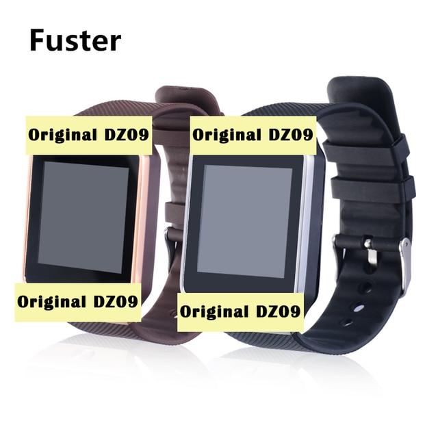 82fd597a0f3 Fuster Original DZ09 relógio inteligente com câmera Do Bluetooth sim relógio  inteligente controle remoto seus telefones