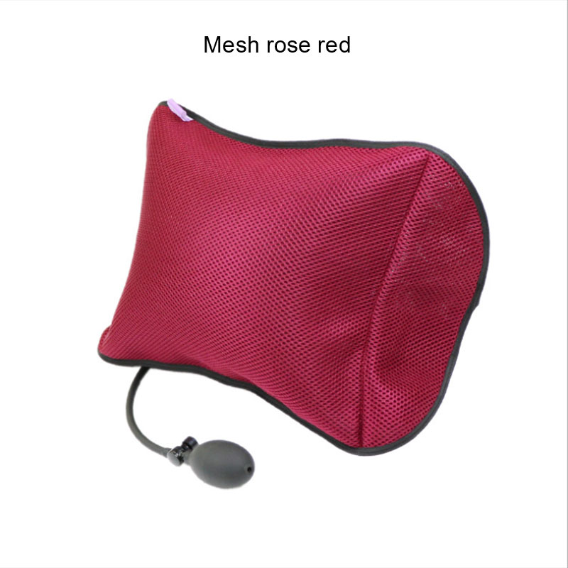 Portable Lumbar  Pillow For Car And Office Chair With Pump Massage To improve posture 3