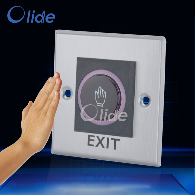 Stainless Steel 86 Type Hand Sensor Switch For Door Access
