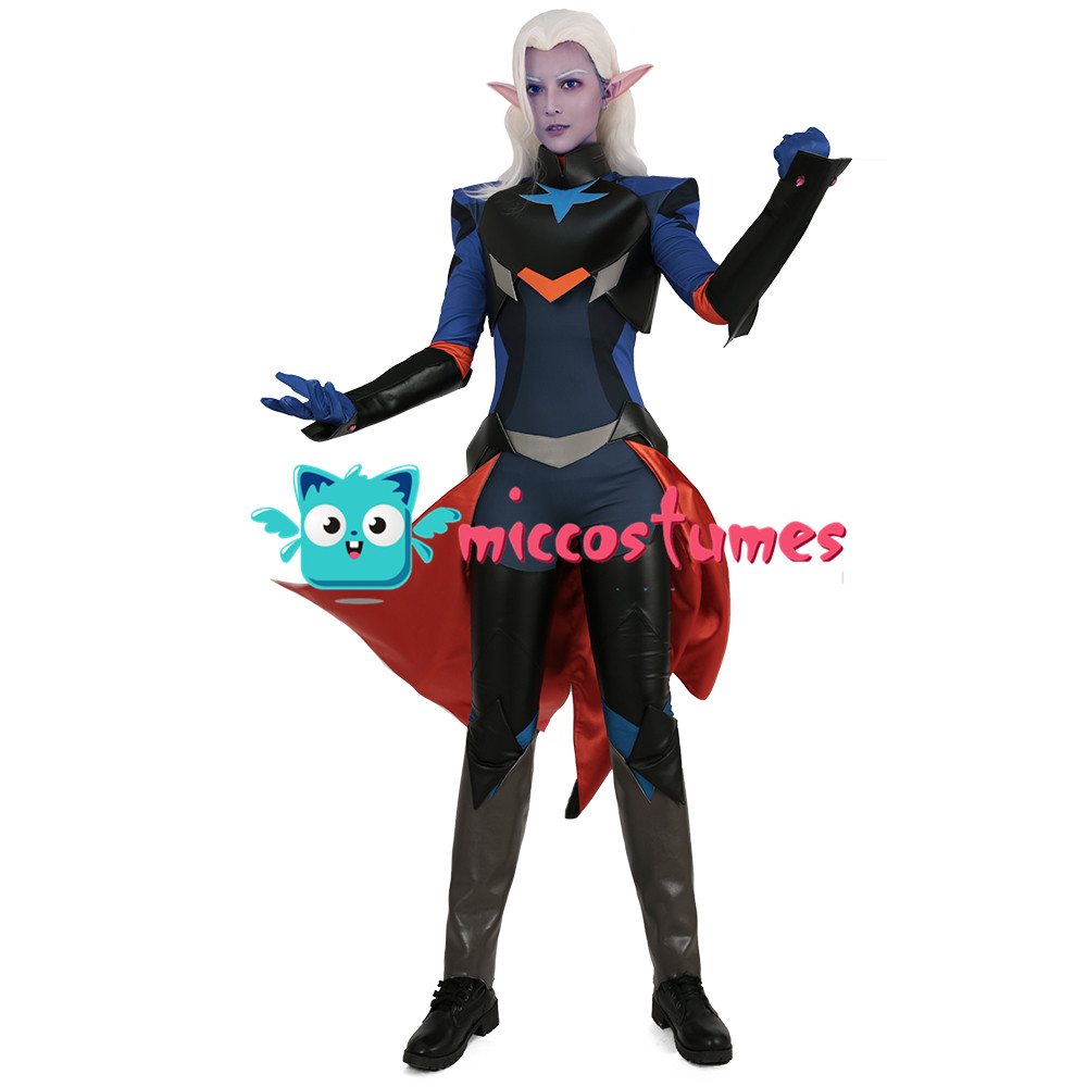 Lotor Cosplay Jumpsuit Bodysuit Costume Anime Men Clothes Halloween Outfit