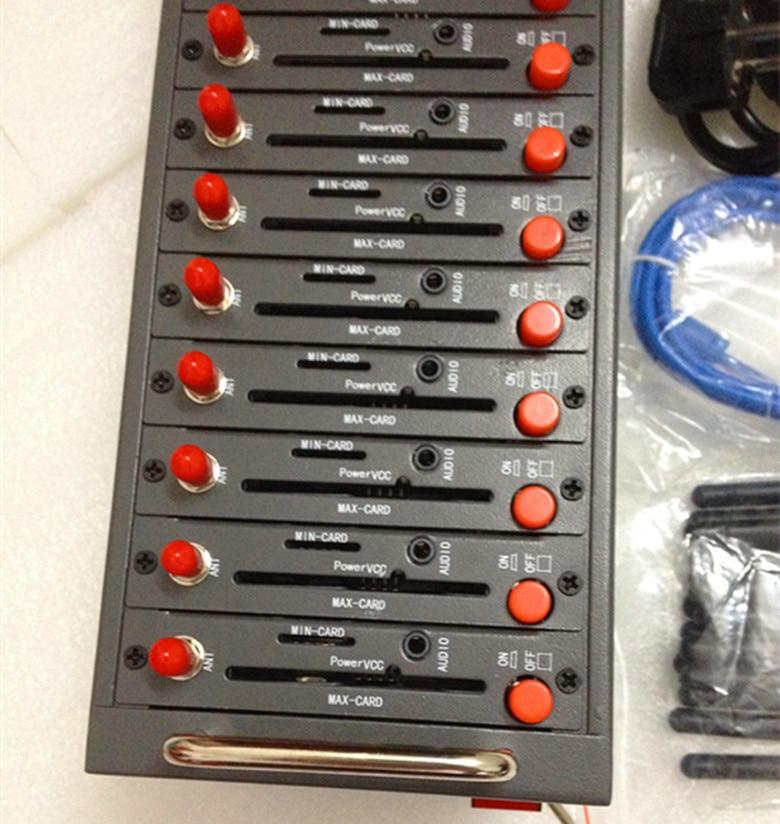 8 Ports USB Gsm Sim Wavecom q2303 Modem Pool With High Speed 900 1800mhz sms ussd