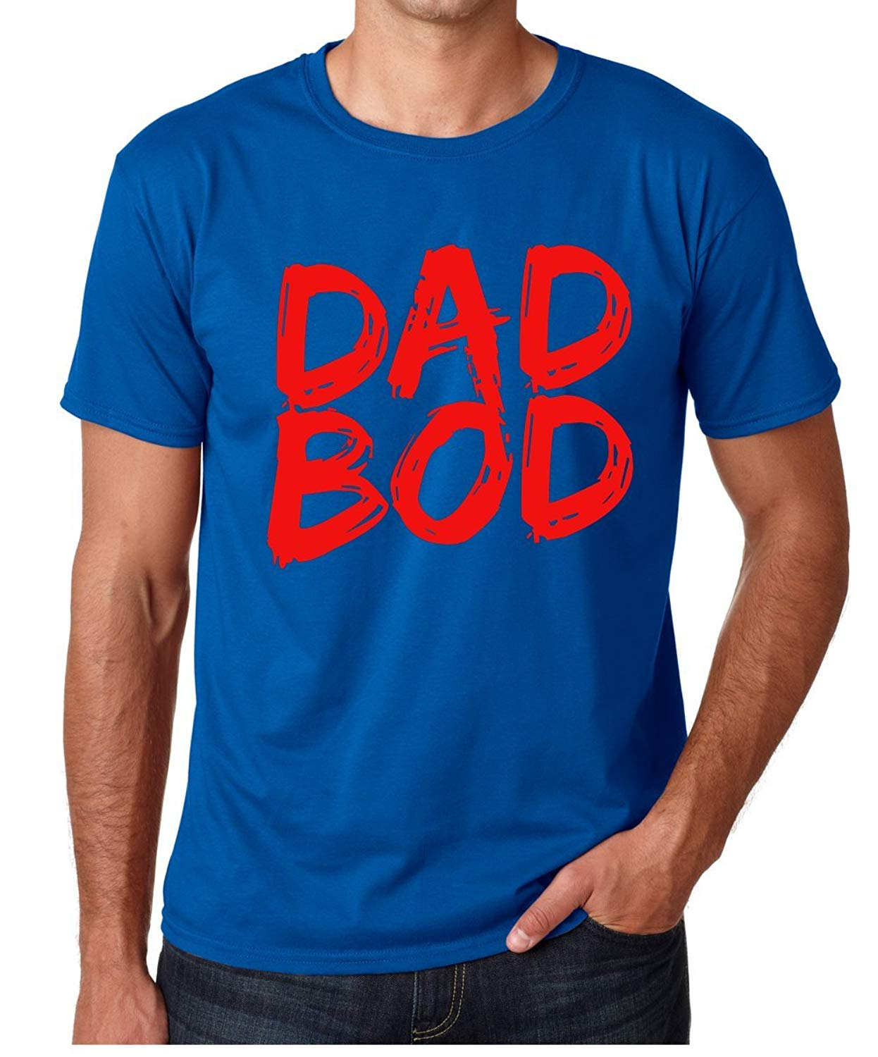T-Shirt Jeans With Dad Bod