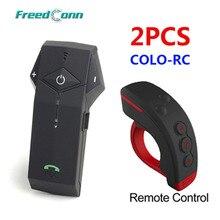 2 шт./лот Bluetooth гарнитура для мотоцикла с NFC, FM-радио и пультом управления