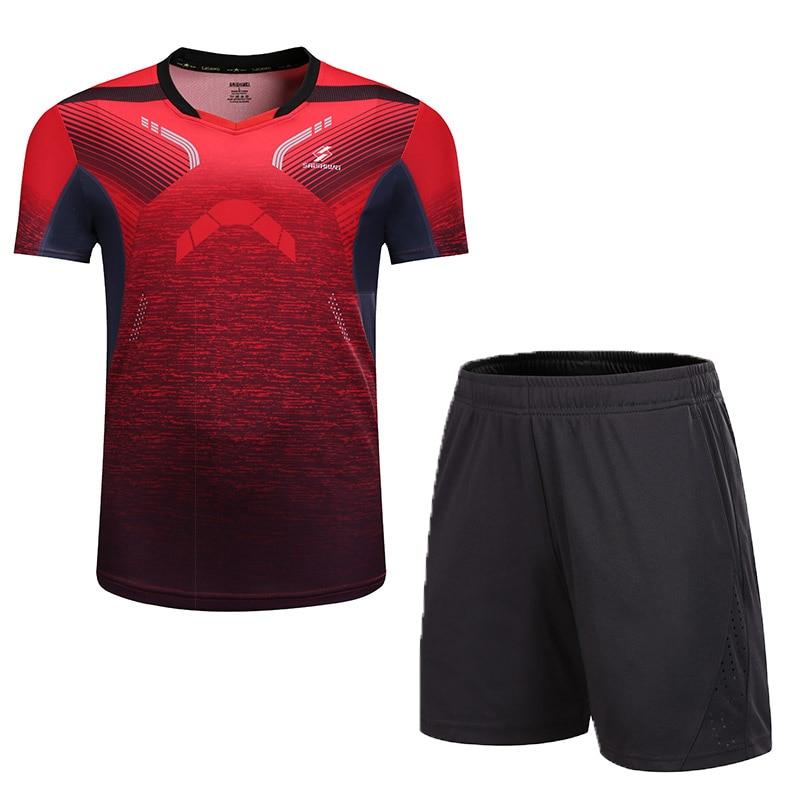 New Badminton Sports Clothes Women/Men, Table Tennis Clothes , Sports Tennis Suit, Qucik Dry Badminton Wear Sets 3888