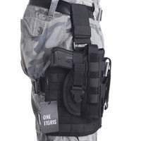 OneTigris Tactical Gun Holster Molle Modular Pistol Holster With Magazine Pouch For Right Handed Shooters 1911