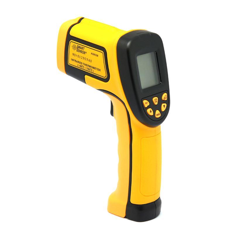 Digital Temperature Gun Sensor Measuring Heat Laser IR Thermometer ℃//℉ Selection