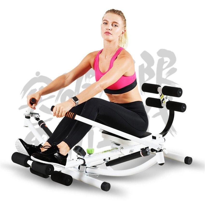 SR1001 Machine à rangée multifonctionnelle bras Pectoral Abdominal corps Fitness entraînement perte de ventre poids intérieur équipement d'exercice à domicile