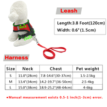 Small Dog Pet Harness and Leash Set